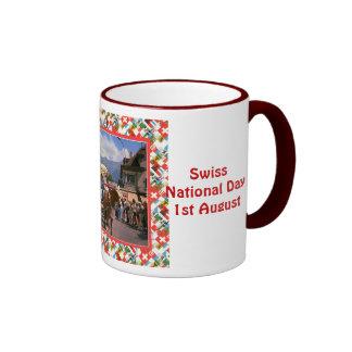 Swiss National Day, 1st August Coffee Mugs