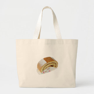 Swiss roll large tote bag