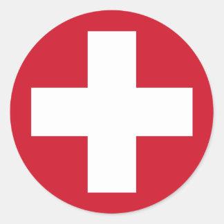 Swiss Roundel Sticker