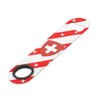 Swiss stripes flag