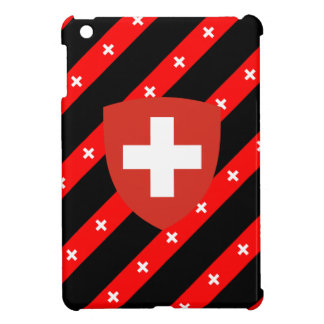 Swiss stripes flag iPad mini cover