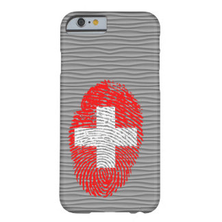 Swiss touch fingerprint flag barely there iPhone 6 case