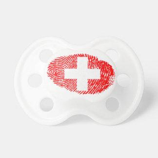 Swiss touch fingerprint flag dummy