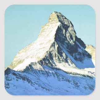 Swissair, Matterhorn Square Sticker