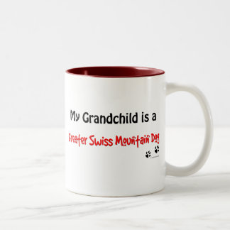 Swissie Grandchild Two-Tone Coffee Mug