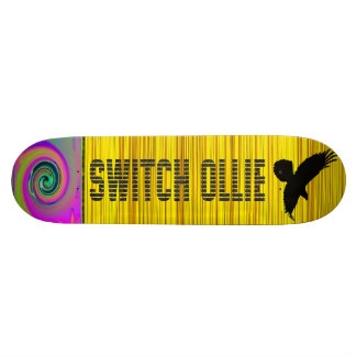 "# "" SWITCH ollie!  Skateboard"