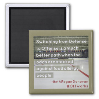 Switching from offense to defense square magnet