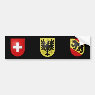 Switzerland - Bern - Oberhasli Bumper Sticker