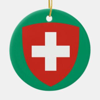 SWITZERLAND*-  Christmas Ornament
