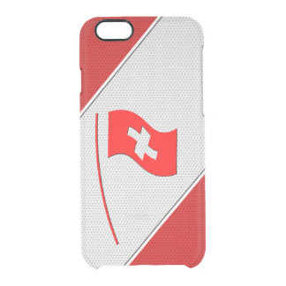 Switzerland Clear iPhone 6/6S Case