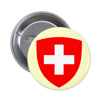 Switzerland Coat of Arms Button