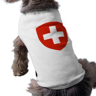 Switzerland Coat of Arms Sleeveless Dog Shirt