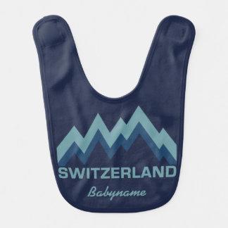 SWITZERLAND custom baby bib