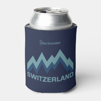 SWITZERLAND custom can cooler