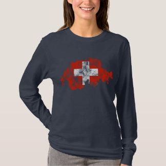 Switzerland Distressed Shirt
