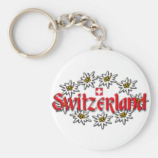 Switzerland Edelweiss Keychain