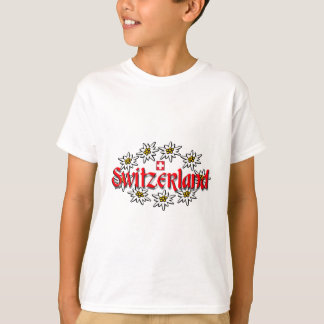 Switzerland Edelweiss Kids Tee