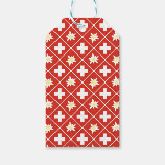 Switzerland Edelweiss pattern Gift Tags