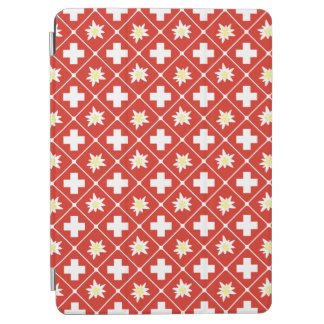 Switzerland Edelweiss pattern iPad Air Cover