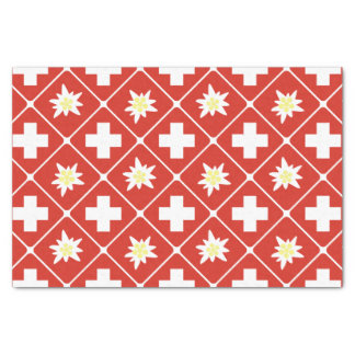 Switzerland Edelweiss pattern Tissue Paper