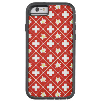 Switzerland Edelweiss pattern Tough Xtreme iPhone 6 Case