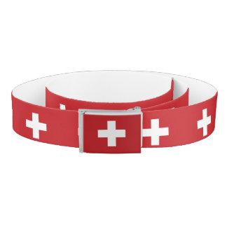 Switzerland Flag Belt