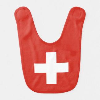 Switzerland Flag Bib