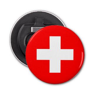 Switzerland Flag Bottle Opener