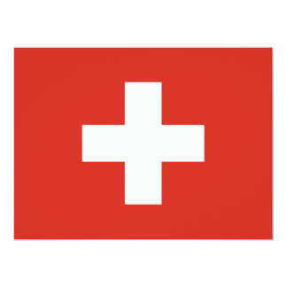Switzerland Flag Card