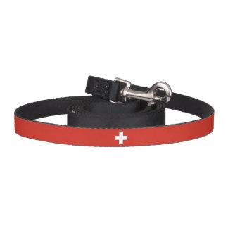 Switzerland Flag Dog Leash