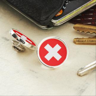 Switzerland Flag Lapel Pin