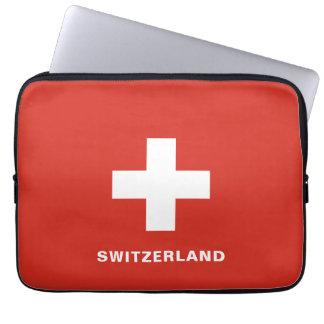 Switzerland Flag Laptop Sleeve
