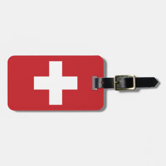 Switzerland Flag Luggage Tag