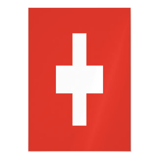 Switzerland Flag Magnetic Card