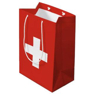 Switzerland Flag Medium Gift Bag