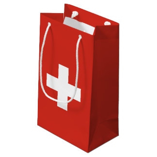 Switzerland Flag Small Gift Bag