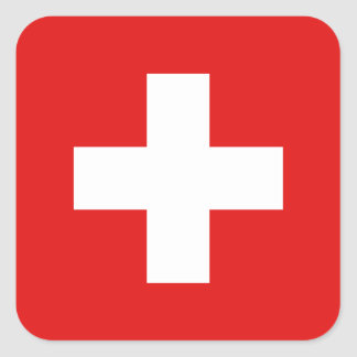 Switzerland Flag Sticker