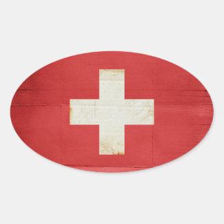 Switzerland Flag Stickers