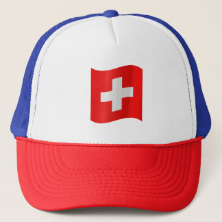 Switzerland Flag Trucker Hat