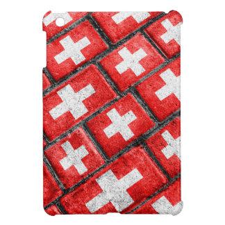 Switzerland Flag Urban Grunge Pattern iPad Mini Covers