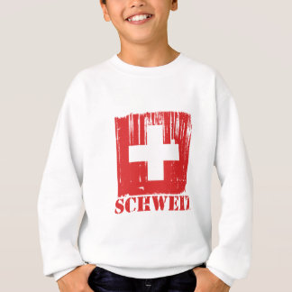 Switzerland Flag World Sweatshirt