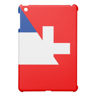 switzerland france flag country half symbol swiss iPad mini case