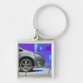 SWITZERLAND, GENEVA: 75th Annual Geneva Auto 5 Key Ring