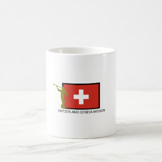 SWITZERLAND GENEVA MISSION LDS CTR COFFEE MUG
