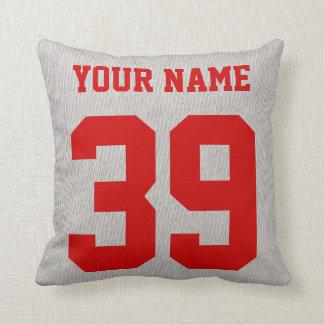 Switzerland Hockey Logo Pillow, Customizable Cushion