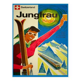 Switzerland, Jungfrau region Postcard