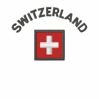 Switzerland Ladies Polo With Swiss Pocket Flag