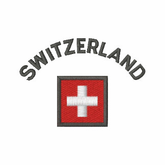 Switzerland Long Sleeve With Swiss Pocket Flag