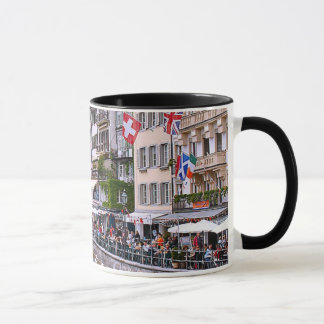 Switzerland, Lucerne, medieval waterfront Mug