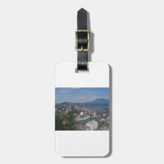 SWITZERLAND LUGGAGE TAG